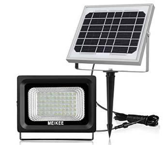 Meikee LED-Außenstrahler / Solarleuchte mit 60 LEDs und IP66 Schutz für 19,99€