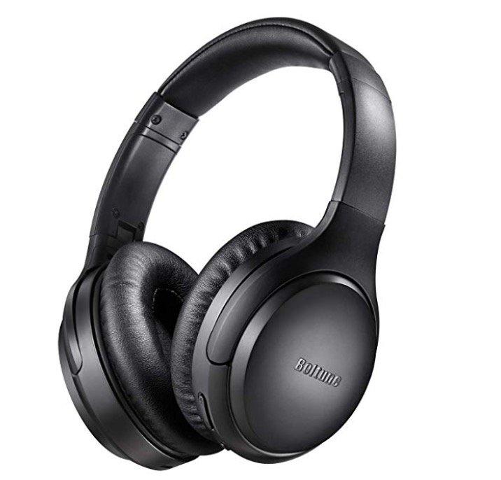Boltune Active Noise Cancelling Over Ear Kopfhörer für 41,99€ (statt 60€)