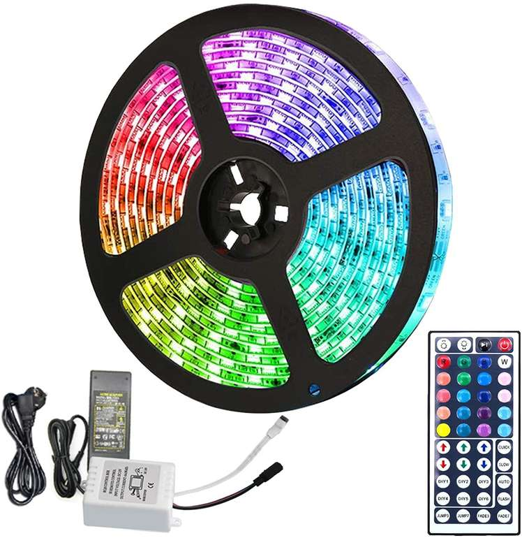 3 Hengda RGB LED Streifen günstiger, z.B. 5m für 12,52€ inkl. Versand
