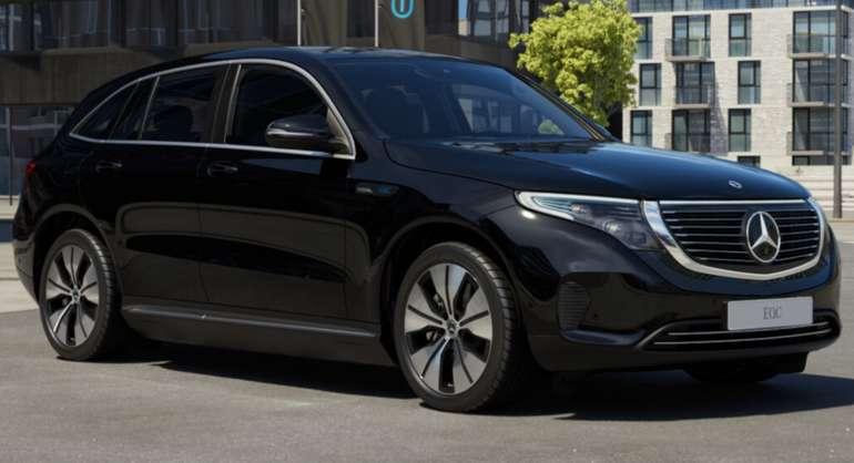 Privatleasing: Mercedes-Benz EQC mit 408 PS für 499€ mtl. (BAFA, LF: 0.73, Überführung: 750€)