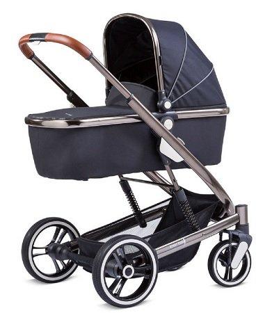 Knorr-Baby Kombikinderwagen Zoomix schwarz für 357,14€ inkl. VSK (statt 397€)