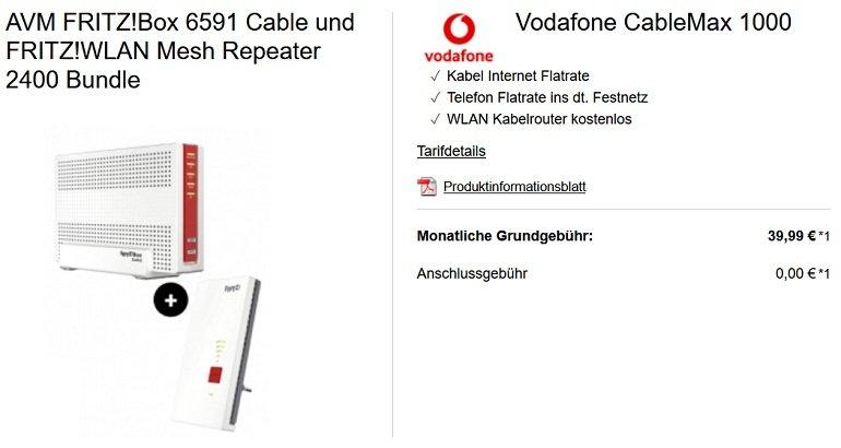 Vodafone CableMax Gigabit