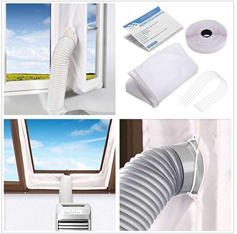 Mayepoo Fensterabdichtung für mobile Klimageräte nur 9,95€ inkl. Prime Versand (statt 16€)