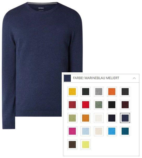 """McNeal Pullover aus Baumwolle """"Santo"""" in 22 Farben für je 22,49€ inkl. Versand (statt 30€)"""