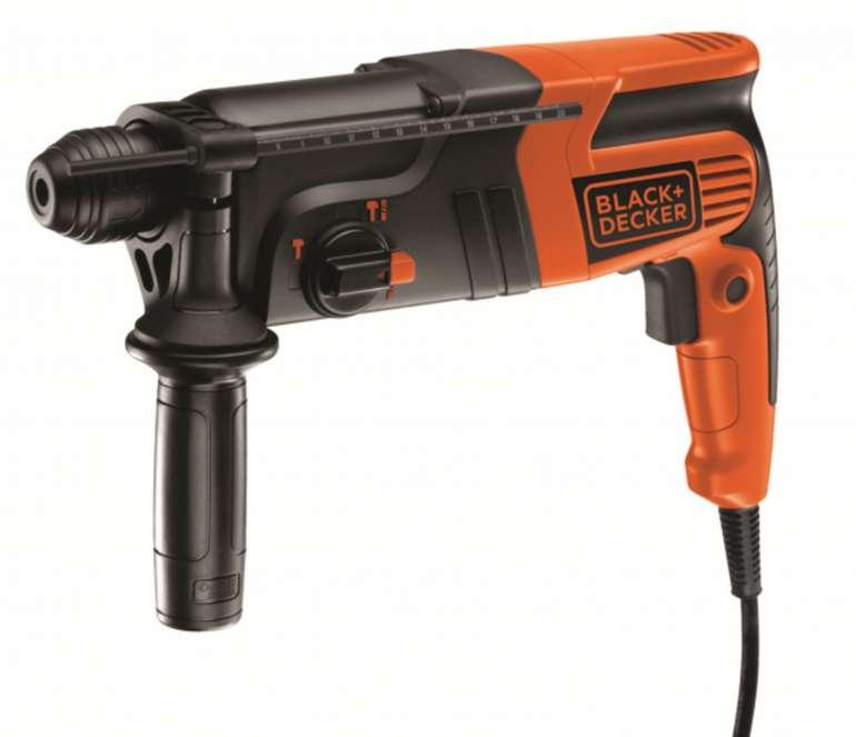 Black + Decker SDS-Plus Bohrhammer mit 550 Watt für 78,95€ inkl. Versand (statt 99€)