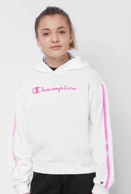 """Champion Junior """"LEG Light Up"""" Logo Mädchen Hoodie für 12,09€ (statt 30€)"""