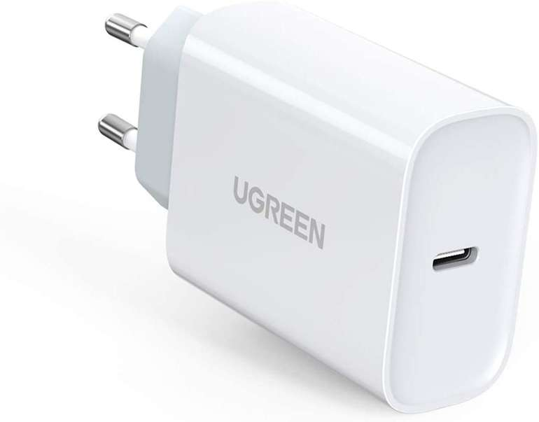 Ugreen 30W USB C Ladegerät für 12,99€ inkl. Prime Versand (statt 26€)