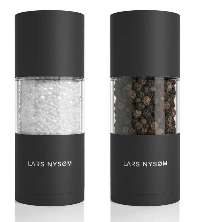 Lars Nysøm Salz- und Pfeffer Mühlen Set aus Edelstahl für 24,99€ inkl. Versand (statt 28€)