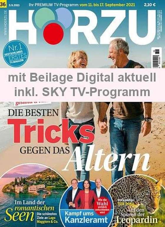1 Jahr HÖRZU mit digital Extra im Prämien-Abo für 121,36€ + z.B. 110€ Zalando Gutschein