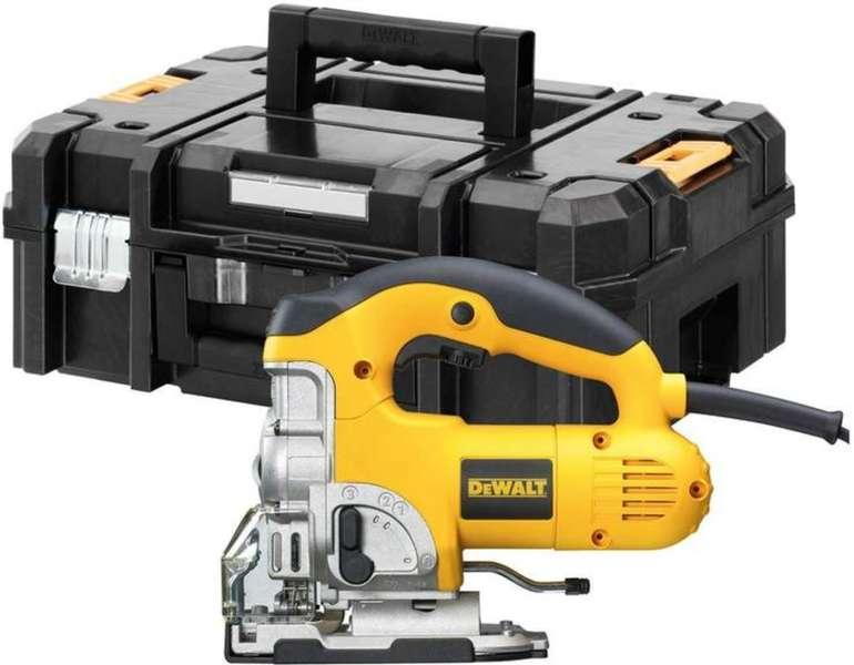 DeWalt DW331KT - Stichsäge im Koffer (701 Watt, Griff oben) für 183,66€ inkl. Versand (statt 255€)