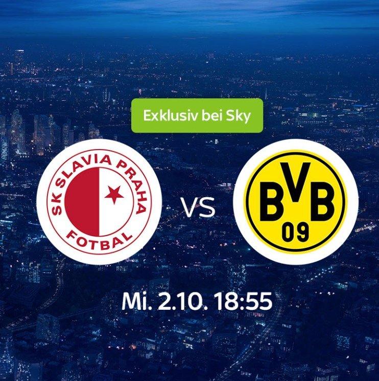 Neukunden: 1 Monat Sky Supersport Ticket (Slavia Prag – Borussia Dortmund) für 9,99€ (statt 30€)