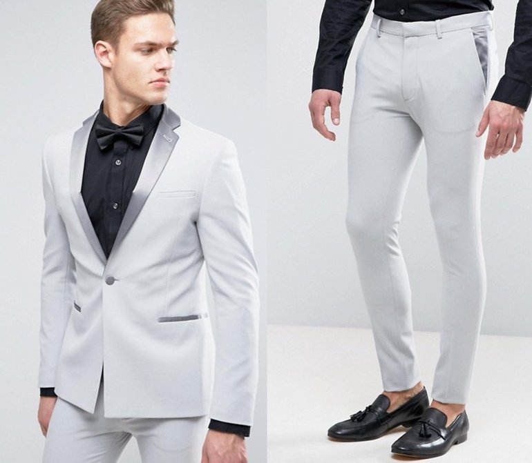 Eng geschnittener Anzug: Hose 15,99€ & Jacke 37,99€ (alles statt 136€ UVP)