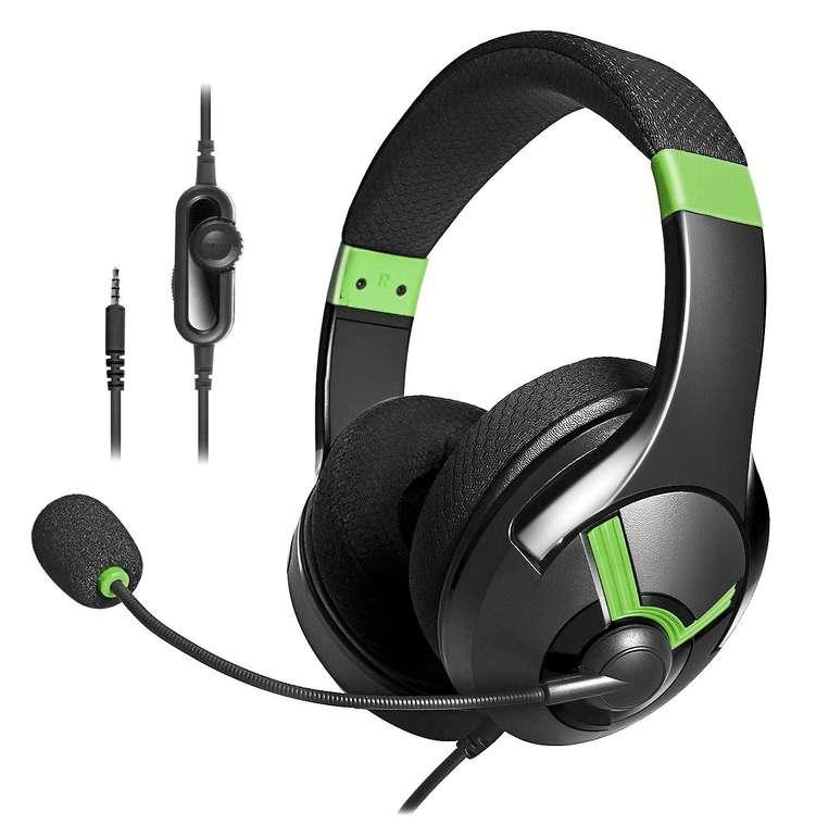 AmazonBasics Gaming-Headset in Grün für 8,10€ inkl. VSK (statt 20€) - Prime!