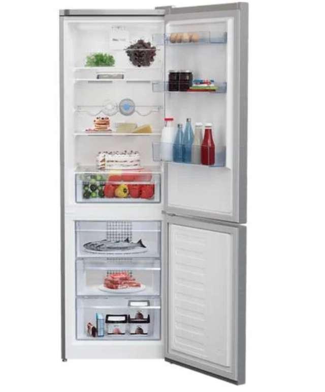 Beko RCNA 366 K 40 XBN Kühlgefrierkombination (EEK: E, No Frost, 0°C-Zone, Türalarm, 324 Liter, Edelstahl) für 369€
