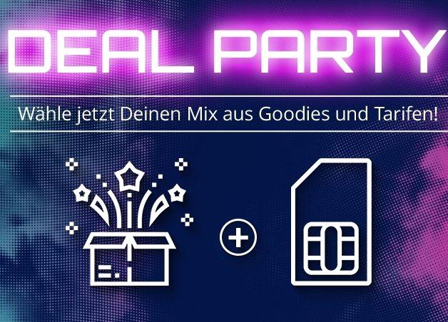 Modeo Deal Party: Crash Allnet Flats mit Prämien, z.B. 8GB LTE mit Sonos Play 1 (19€) für 14,99€ mtl.