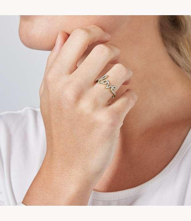 Fossil Damen Ring Love Collection (JF03345710001) für 27,20€ inkl. Versand (statt 49€)