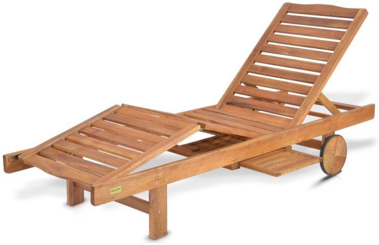 Hecht Resort A Lounger Sonnenliege mit Seitentisch für 89€ inkl. Versand