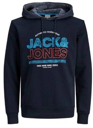 """Jack & Jones Sweatshirt """"Fund"""" in dunkelblau für 17,94€ inkl. Versand (statt 28€)"""