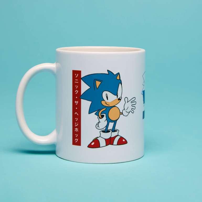 Sega Bundle: z.B. Sonic T-Shirt + Tasse für 11,48€