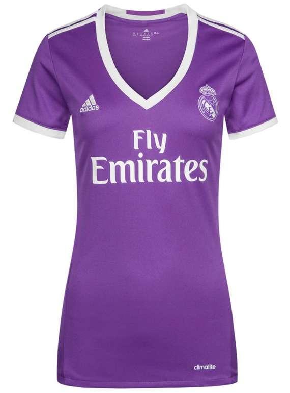 Real Madrid Adidas Damen Auswärts Trikot für 8€ inkl. Versand (statt 15€) - nur in L und XL!