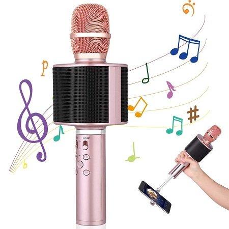 Mbuynow Kabelloses TWS 4.1 Bluetooth Karaoke Mikrofon für 11,99€ (Prime)
