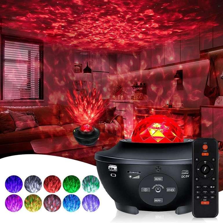 Yijiahome Sternenhimmel Projektoren bei Amazon reduziert, z.B. 10-farbig für 23,39€