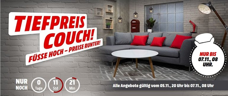 Media Markt Tiefpreis-Couch