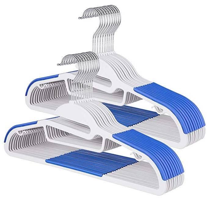 20 Sable Kleiderbügel / Anzugbügel ABS Plastik für 9,99€ inkl. Prime Versand