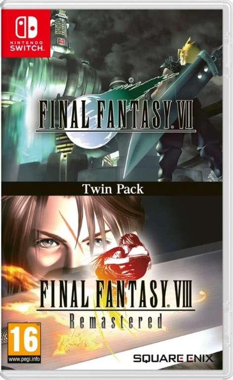 Final Fantasy VII & Final Fantasy VIII Remastered Twin Pack (Switch) für 28,95€ inkl. Versand (statt 34€)