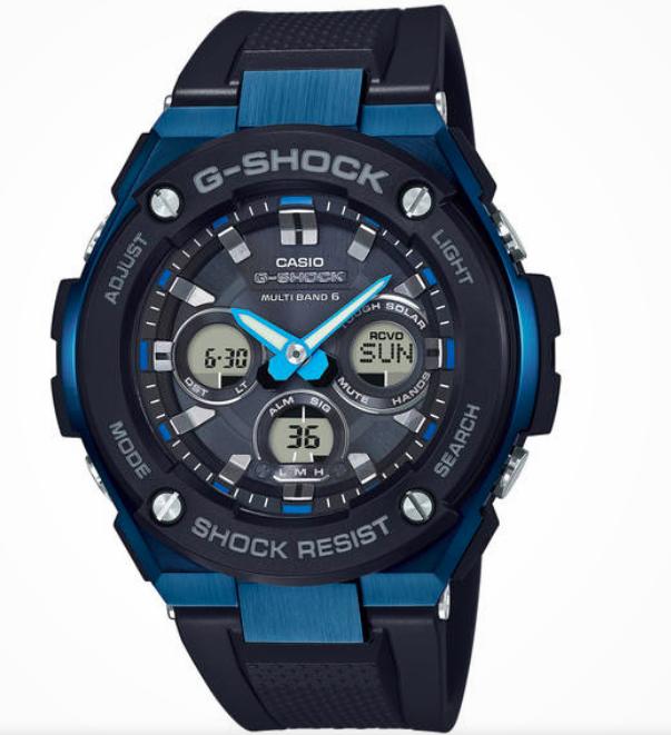 Casio G-Shock GST-W300G-1A2ER Herren-Multifunktionsuhr für 129,99€ (statt 276€)
