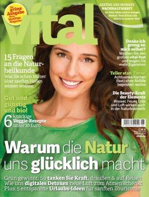 """3 Ausgaben der Zeitschrift """"Vital"""" für 6,50€ + 10€ Gutschein für Amazon"""