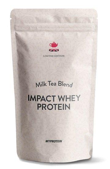 """Myprotein: 45% Rabatt auf Alles + kostenloser Versand (ab 50€) - z.B. 5kg Impact Whey Protein """"Milk Tea"""" für 38,49€"""
