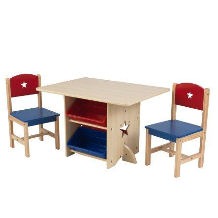 KidKraft Kindersitzgruppe Star 5-tlg., 2 Farben für 91,99€ (statt 109€)