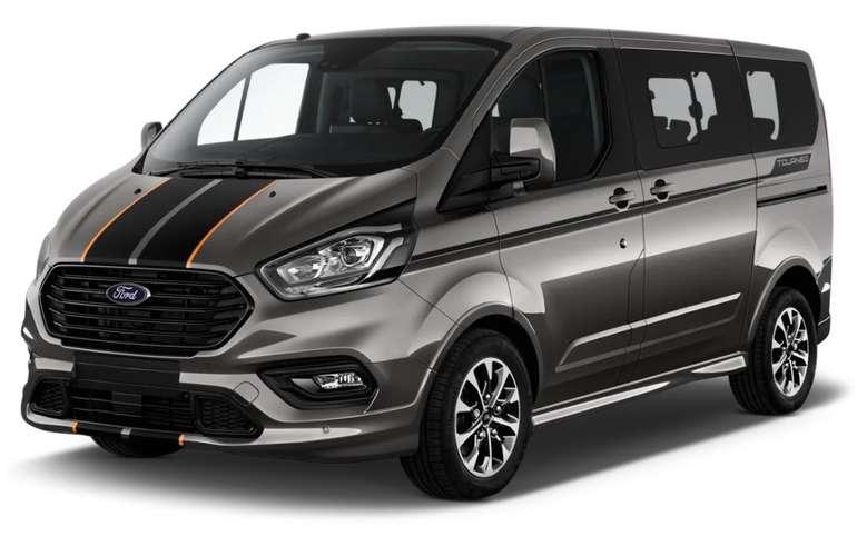 Privat Leasing: Ford Tourneo Custom Active mit 130 PS und 9-Sitzen für 199€ mtl. (Überführung: 980€, LF 0,37)