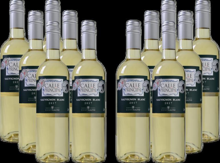 12 Fl. Calle Principal - Sauvignon Blanc - Vino de la Tierra Castilla für 39,96€