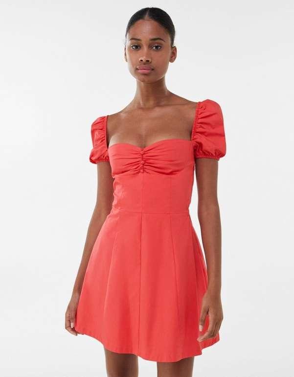 Bershka Damen Popelin Kleid für 16,94€ inkl. Versand (statt 30€)