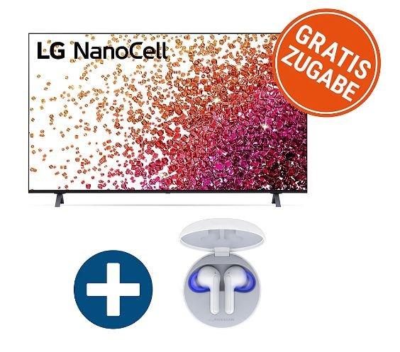 "LG 75NANO759PA Nano Fernseher 75"" + LG In-Ear-Kopfhörer FN6 für 894€ inkl. Versand (statt 1162€)"