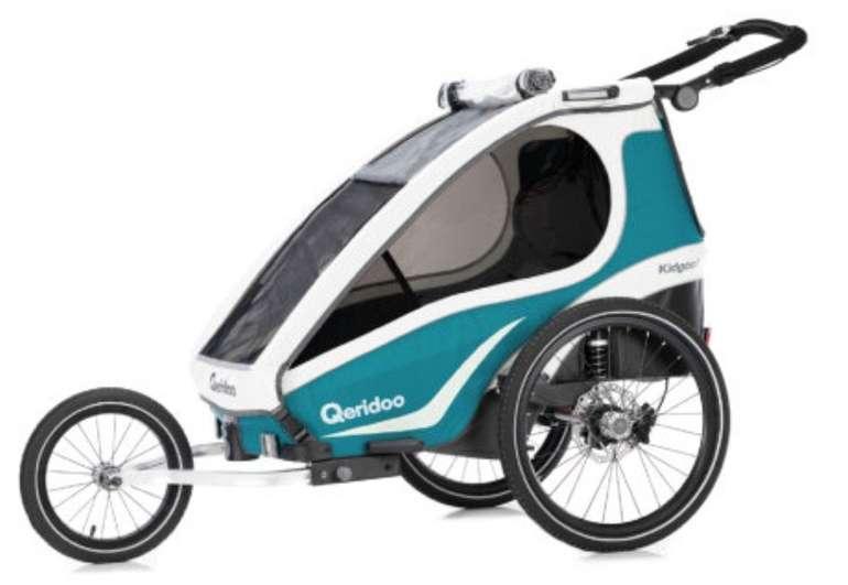 Qeridoo KidGoo 1 Sport (2019) Fahrradanhänger für 399€ inkl. Versand (statt 449€)