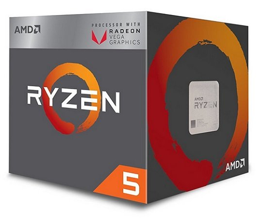 AMD Ryzen 5 2400G Prozessor mit 3.6 GHz für 118,89€ inklusive Versand