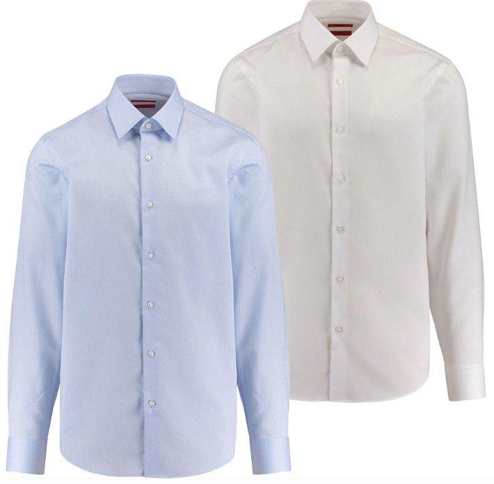 Hugo C-Enzo - Herren Businesshemd (Regular Fit, Langarm) für 49,90€