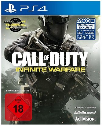 Call of Duty: Infinite Warfare (Day One Edition) für PS4 nur 9,99€ (Abholung)