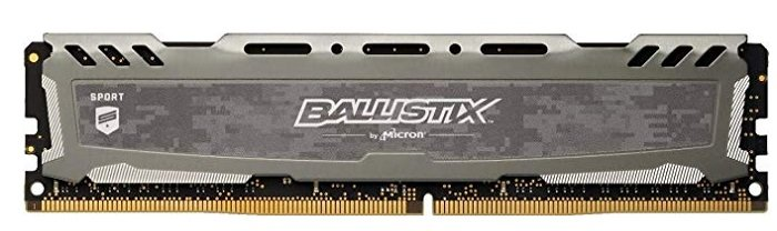 16GB Speicher Ballistix Sport LT BLS16G4D30BESB für 73€ inkl. VSK (statt 150€)