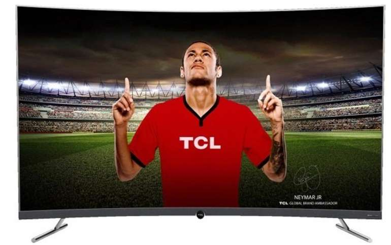 TCL 65DP670 - 65 Zoll Curved UHD 4K LED Smart TV für 849€ (statt 995€)