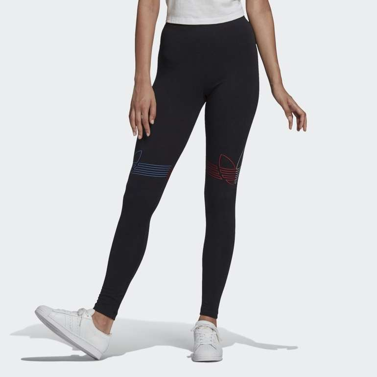 Adidas Loungewear Adicolor Tricolor Damen Leggings für 15,30€ (statt 24€) - Creators Club