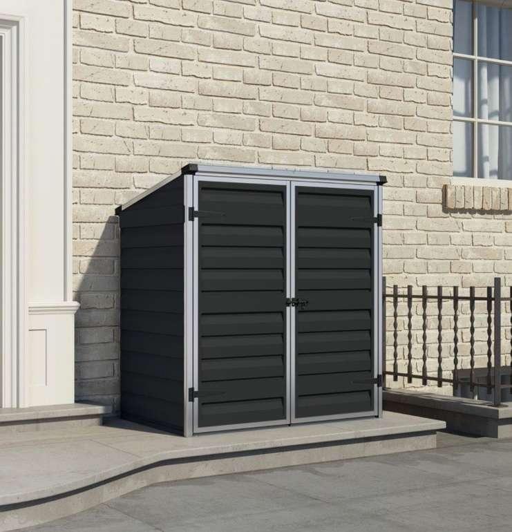 Palram Voyager Gerätebox bzw. Mülltonnenbox mit Alurahmen für 169,99€ inkl. Versand (statt 230€)