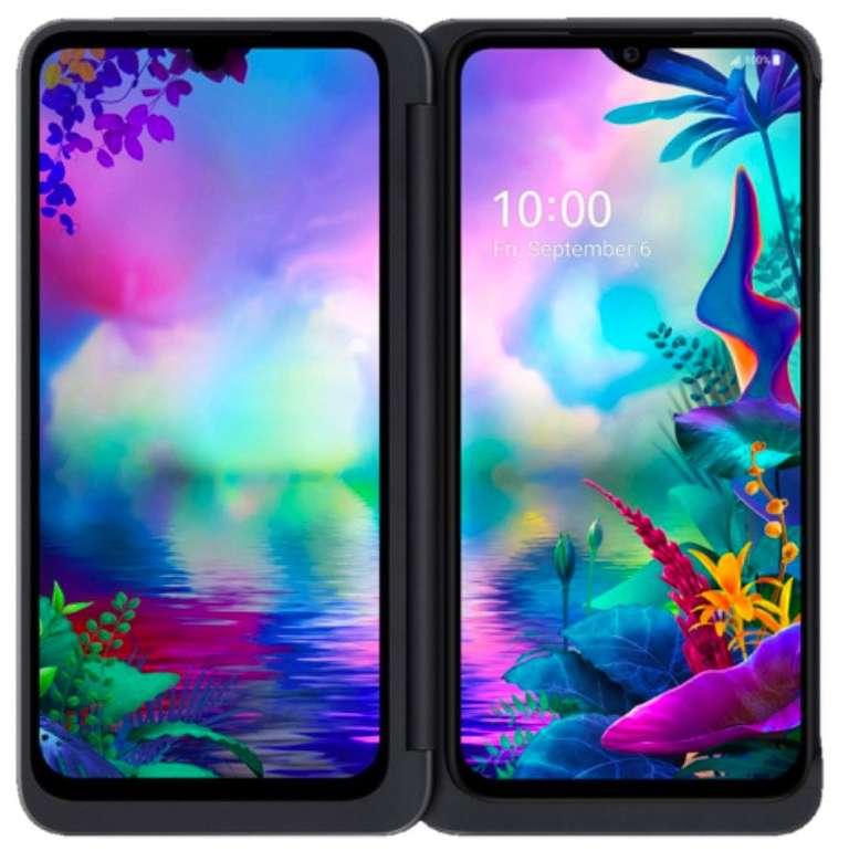 "LG G8X Thinq - 6,4"" Dual Screen Smartphone (Android 9,  6GB RAM, FHD+) für 386,42€ inkl. Versand (statt 530€)"