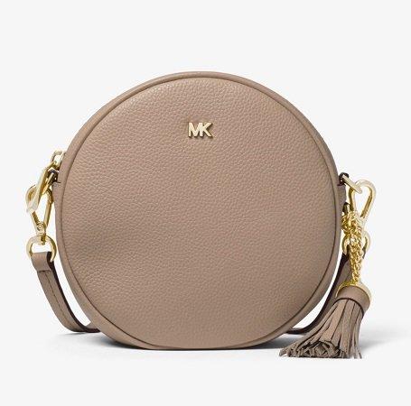 Michael Kors Mercer Medium Pebbled Leather Canteen Crossbody Tasche für 87,50€