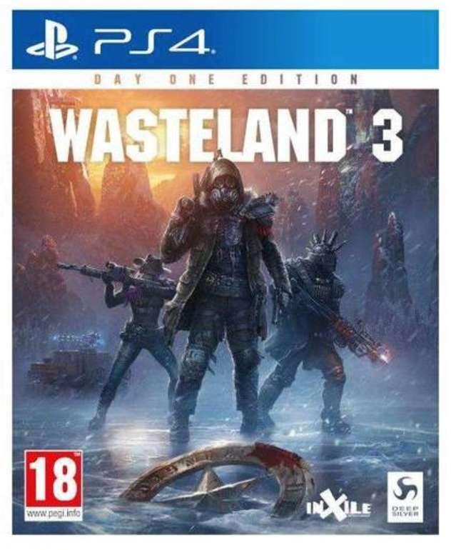 Wasteland 3 - Day One Edition (PS4) für 18,50€ inkl. Versand (statt 24€)