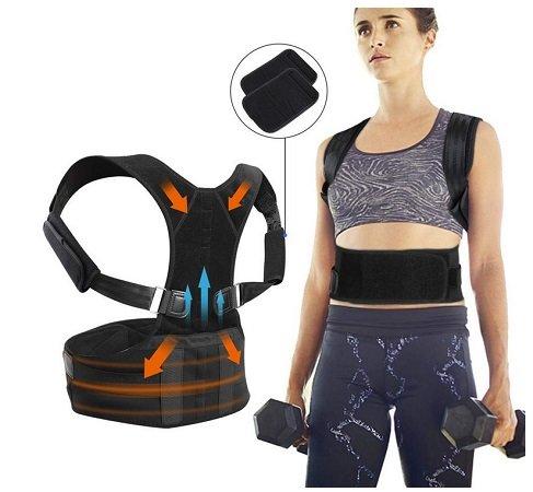 JTENG - Haltungstrainer zur Haltungskorrektur des Rückens für 6,49€ inkl. VSK