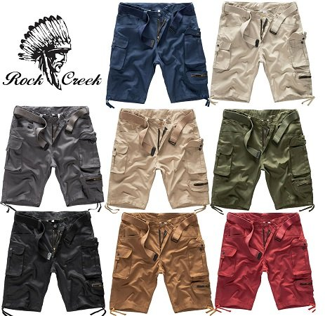 Rock Creek H-171 Herren Cargo Shorts für 19,99€ inkl. VSK (statt 30€)